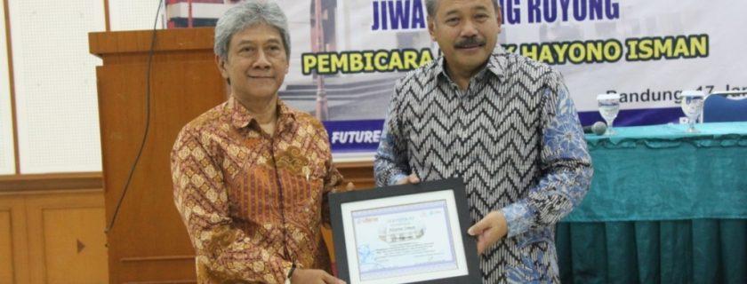 Rektor Universitas Widyatama & Bpk Hayono Isman