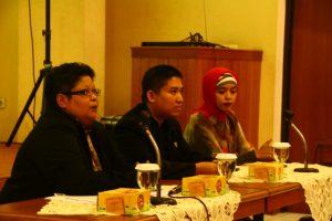 Moderator, Pembicara dan Ka. Prodi Manajemen