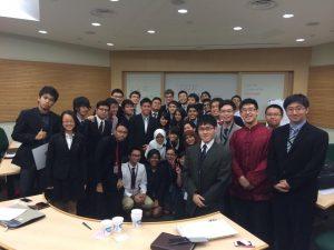 Mahasiswa Manajemen dan Peserta Dari Berbagai Negara