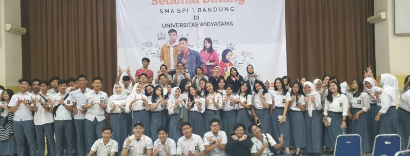 Kegiatan Kunjungan SMA BPI 1 Bandung