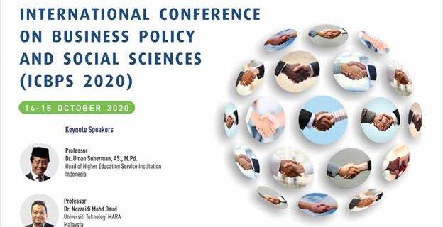 Lebih Dari 10 Mahasiswa Program Studi Manajemen S1 Mengikuti The 3rd International Conference on Business, Policy, and Social Sciences 2020