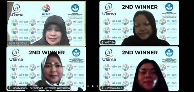 Mahasiswa Program Studi Manajemen S1 Juara 2 Business Plan Competition dalam Ajang WI-CAN 2020